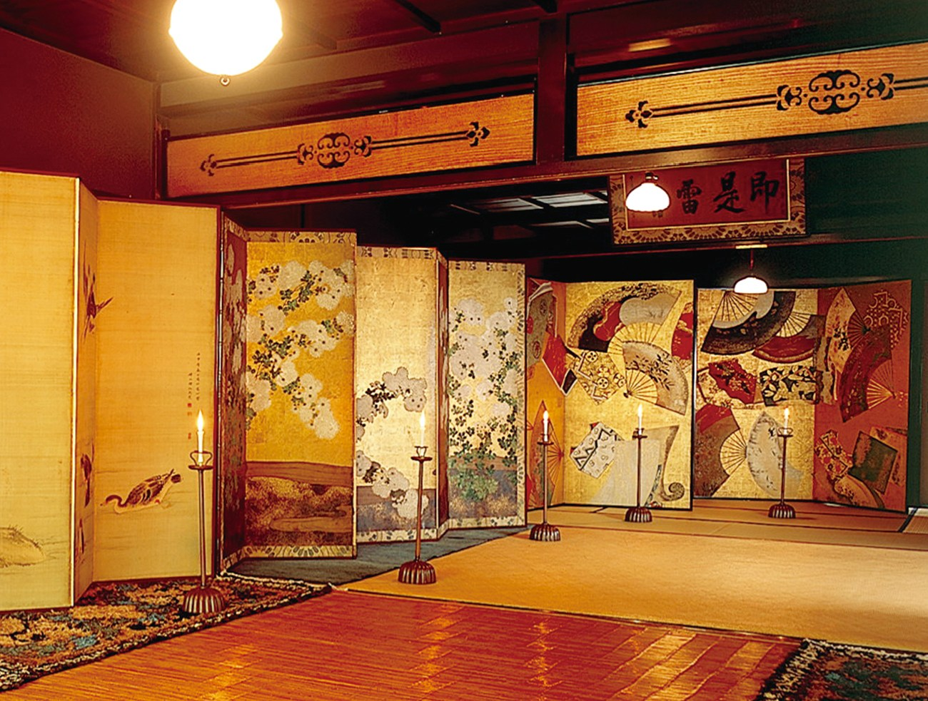 Byobu interior