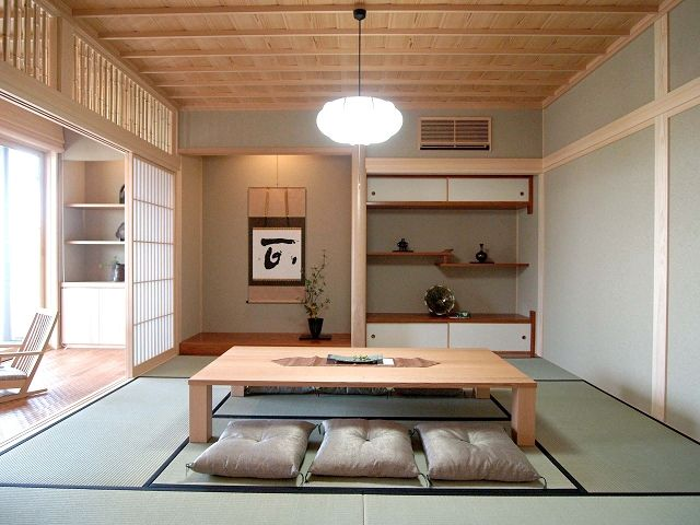 Interior Modern Khas Jepang