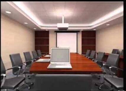 Desain Ruang Rapat Kekinian